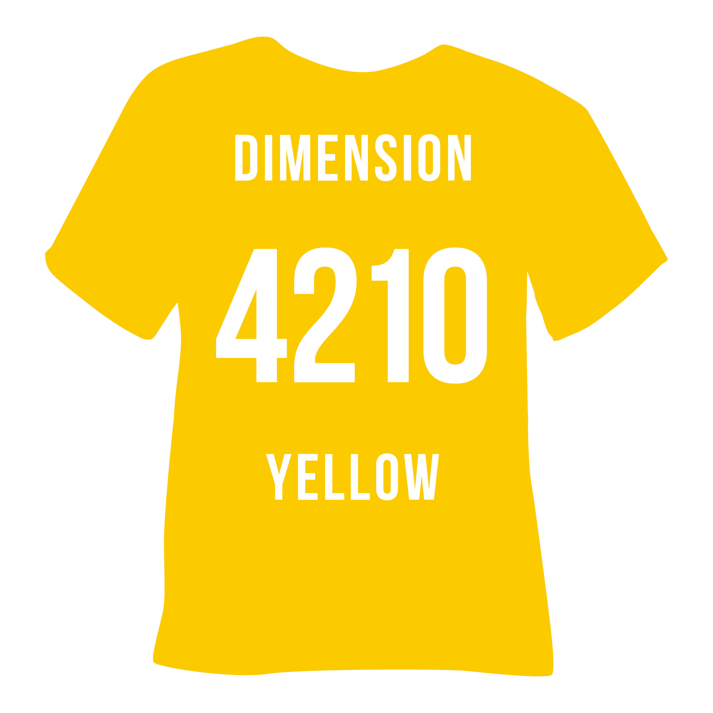 4210 DIMENSION YELLOW