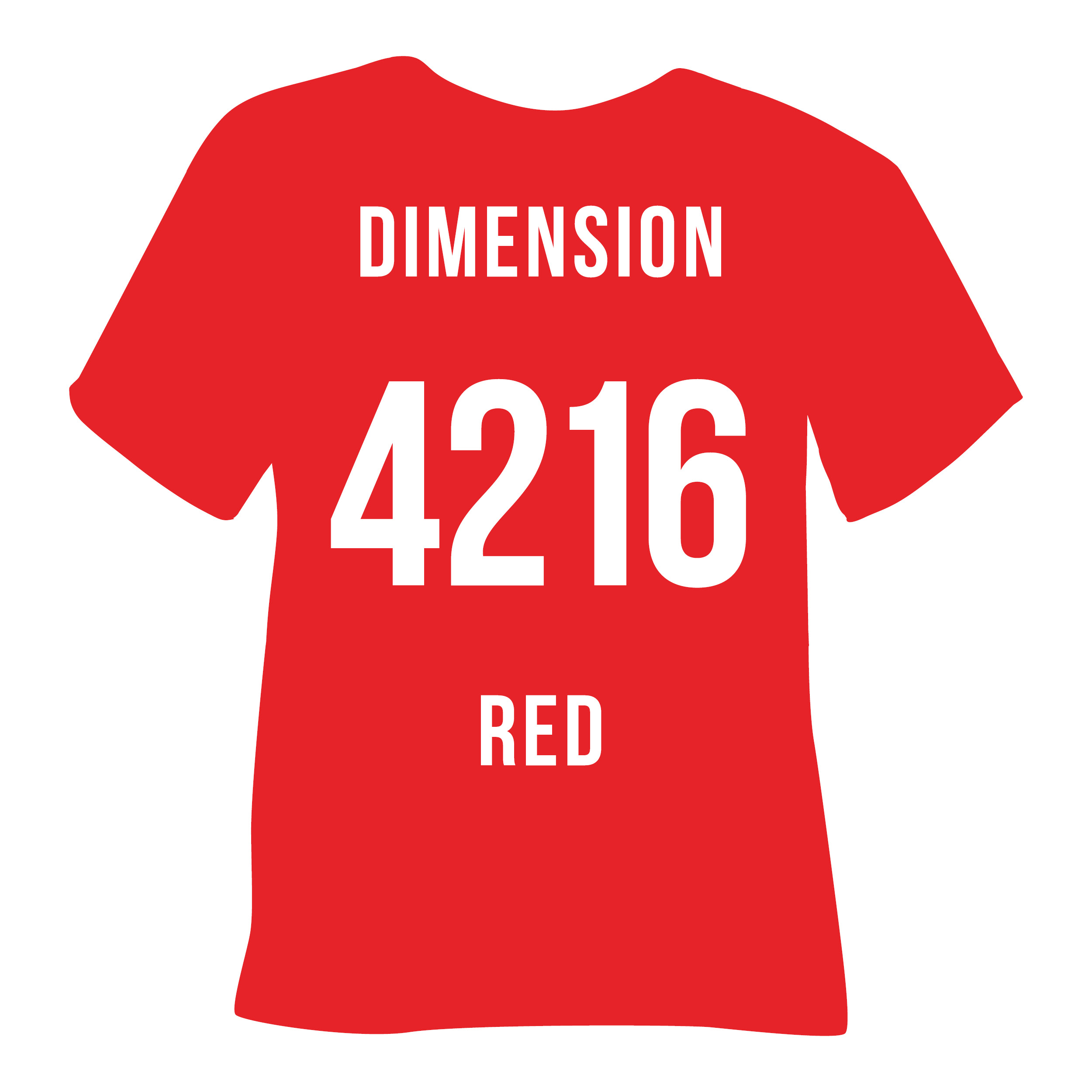 4216 DIMENSION RED