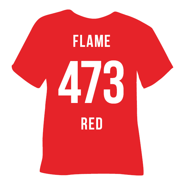 473 FLAME RED
