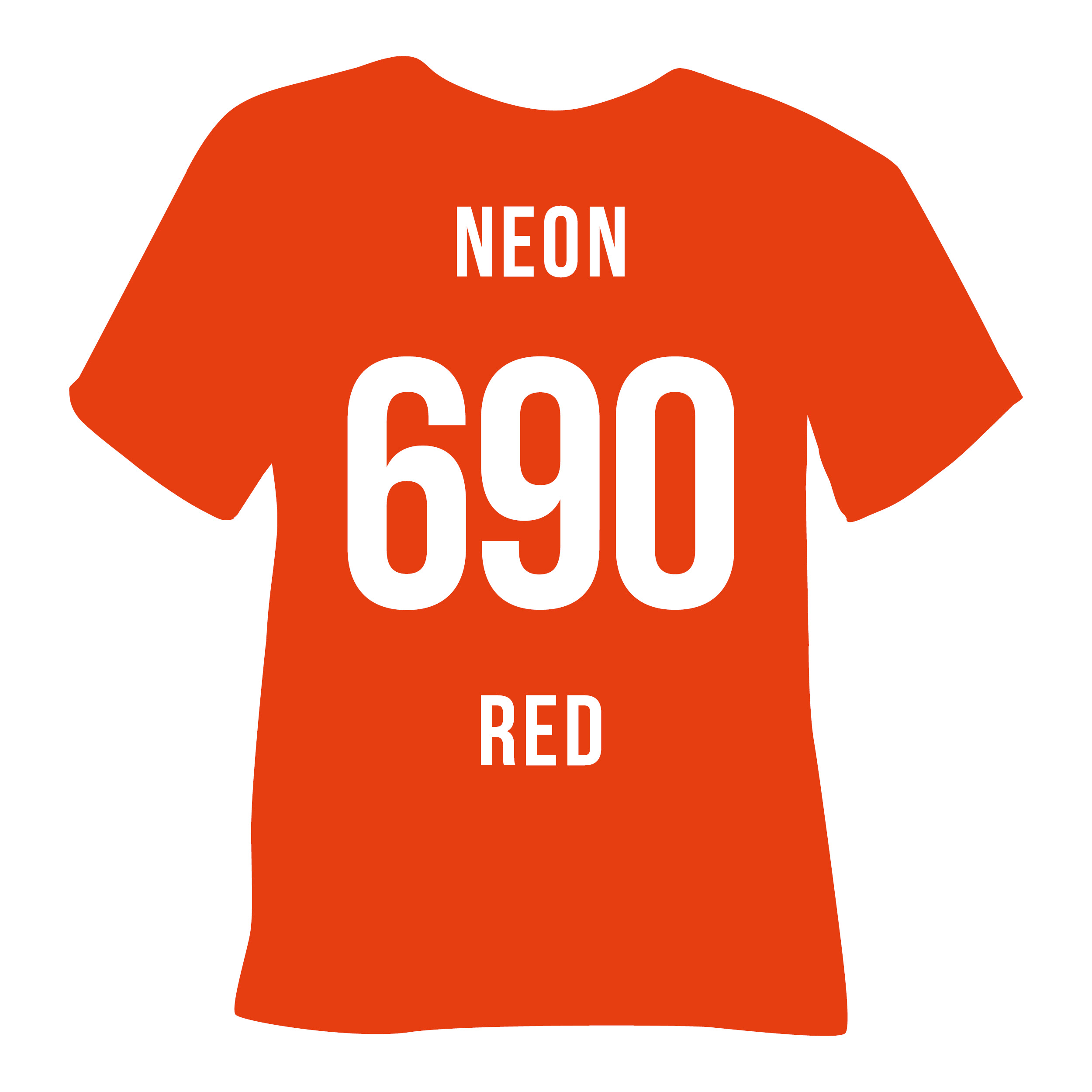690 NEON RED