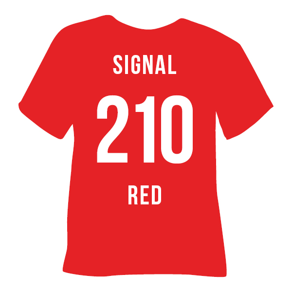 210 SIGNAL RED