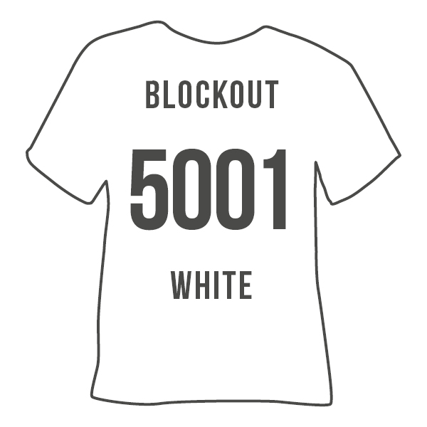 5001 BLOCKOUT WHITE